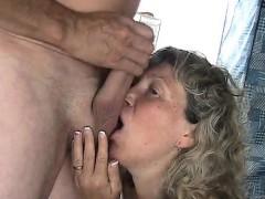55 Yo Slut Wife Marie Gets Facial