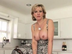 Cheating english mature gill ellis shows her massive natural