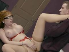 Hot Redhead Lauren Phillips Gets Her Anus Destroyed