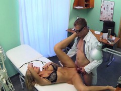 sexy blonde fucks with doctor in hospital WWW.ONSEXO.COM