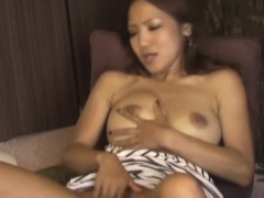 Busty japanese rubbing