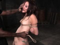 Strappado Bondage Slut Gets Punished