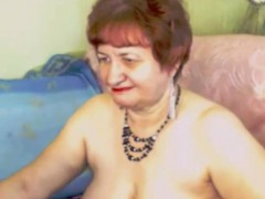 Sexy Redhead Granny Contact Her Adult Vagina On Camera