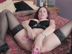 matured-woman-gets-naughty-in-her-black-lingerie