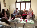 Busty milf fucked in front of her friends