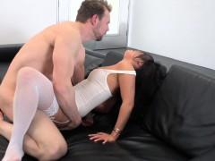 Asa Akira Spreading Her Gaping Hole