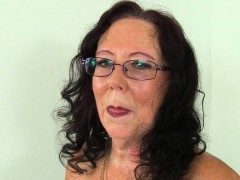 British Mature Secretaries Lulu Lush And Zadi Strip Off