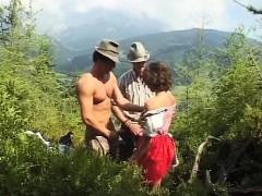 german slut loves extreme mountain sex