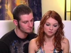 Swinger Amateur Babe Gets Shaved Cunt Fingered