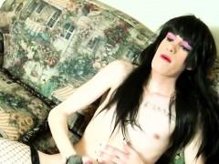 amateur-lingeried-trans-solo-wanking-cock
