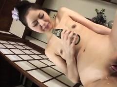 hana-tries-a-tasty-dong-up-her-needy-throat