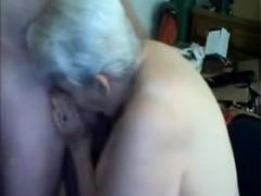 amateur cum loving granny drenched in jizz