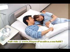 Akiho Yoshizawa Amateur Asian Nurse Blowjobs