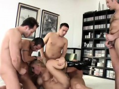 Foxy Britney Gets Nailed In A Gangbang