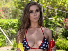 Lena Pauls good ol patriotic american blowjob