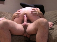 blonde fisting own ass in casting WWW.ONSEXO.COM
