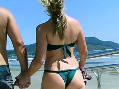 Sexdate Amateurs At The Public Beach 1