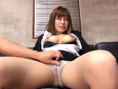 serious work interview turns into an office fuck session Japan Sex