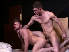 Ripped Master Dominating Submissives Ass