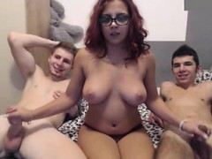 big boobs teacher gangbang