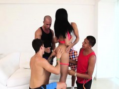 big-tits-brunette-tranny-gets-cock-stuffed-by-lots-of-dudes