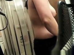 Undressing Before Shower