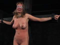 nt slave restrained and tormented by femdom