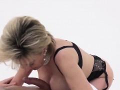 Unfaithful English Milf Lady Sonia Displays Her Large Hooter