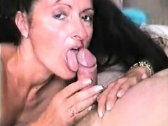 Cheating Milf Sucks Fat Cock At Pov