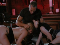 Blonde Babe Will Do Just About Anything For Her Horny Master