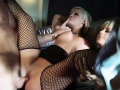 Hot Blondes Get Plowed On The Plane