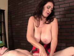 busty-mean-masseuse-tugging-after-teasing