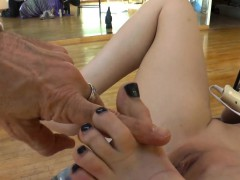 Kinky Hos Feet Worshipped