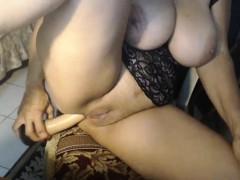 massive boobs mature brunette