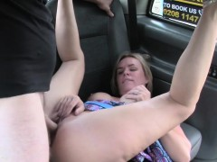 Busty Milf Gets Cumshot In Fake Taxi