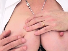 Cheating English Mature Gill Ellis Shows Her Monster Tits47v