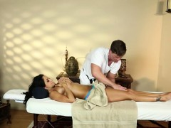 Busty Milf Titfucked By Horny Masseur