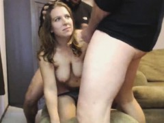 First Time Mmf Threesome And She Is Little Scared