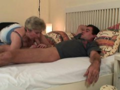 Daughter Finds Her Old Mother Riding Dick