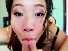 Pov Gagging Asian Jizzed