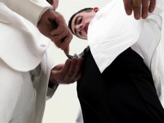 Straight Boy Missionary Barebacked By Muscle Bear Priest