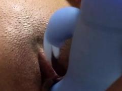 Close Up Pussy Masturbation While Alone At Home