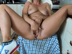 massive boobs camgirl rides her toy on webcam WWW.ONSEXO.COM