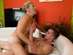 Saggy Granny Gets Her Hairy Pussy Fucked