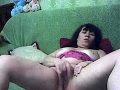 Mature Bbw Webcam Masturbation