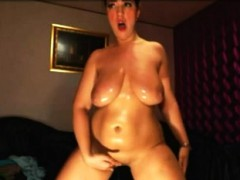 Busty Bbw Solo Action