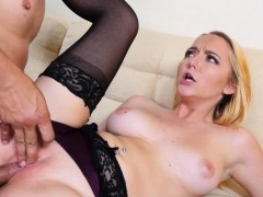Blonde Taboo Amateur Spoons Guys Cock