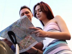Casual Teen Sex – Michelle – Teen redhead sex in a big city