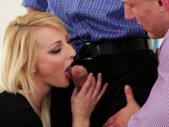 Bisexual Studs Spitroasting Adorable Babe