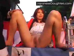 Young japanese japanese daughter anal fucked hard for the
